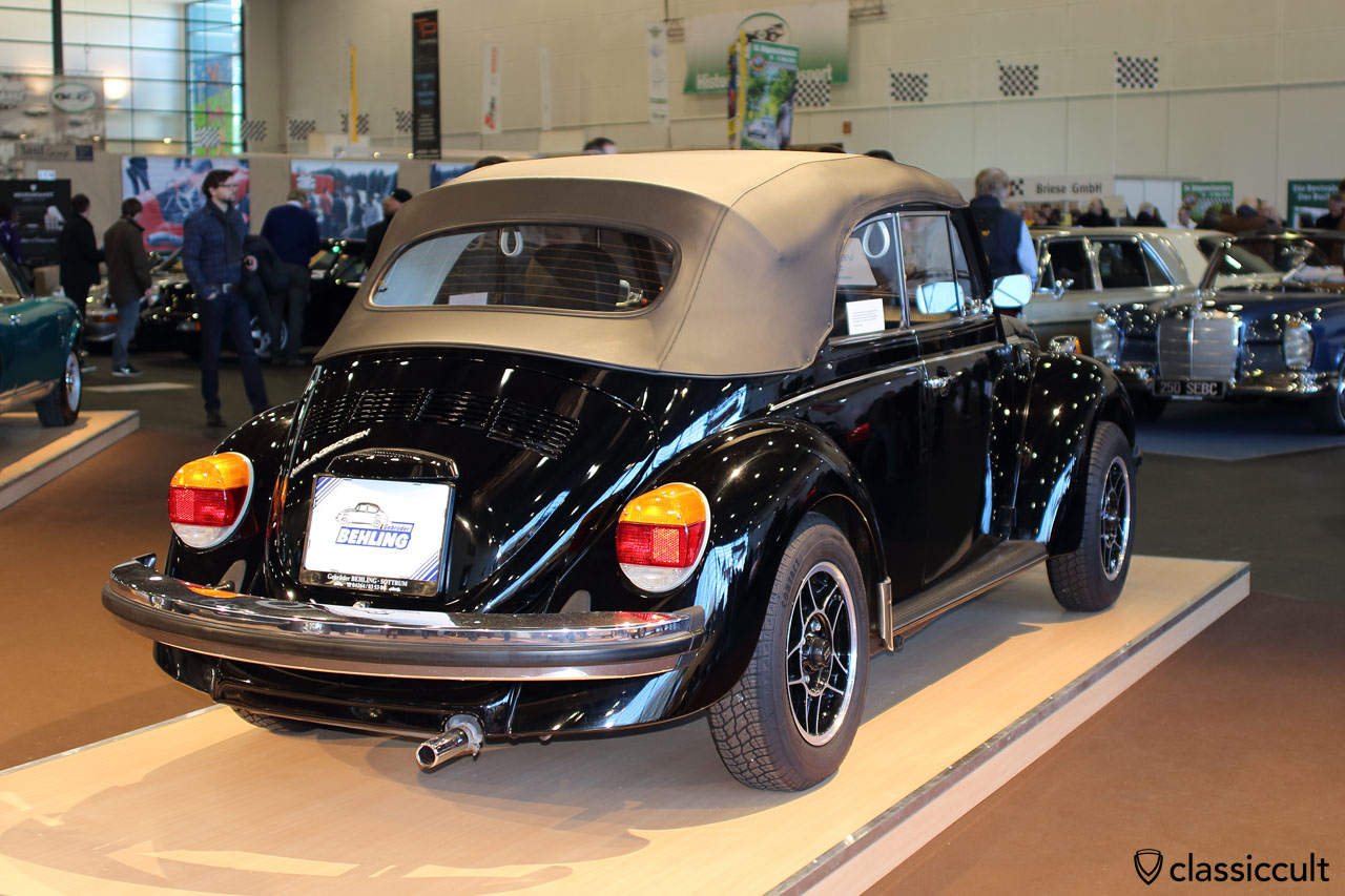 VW Beetle 1303, only 7500 kilometer, import from USA, rear view