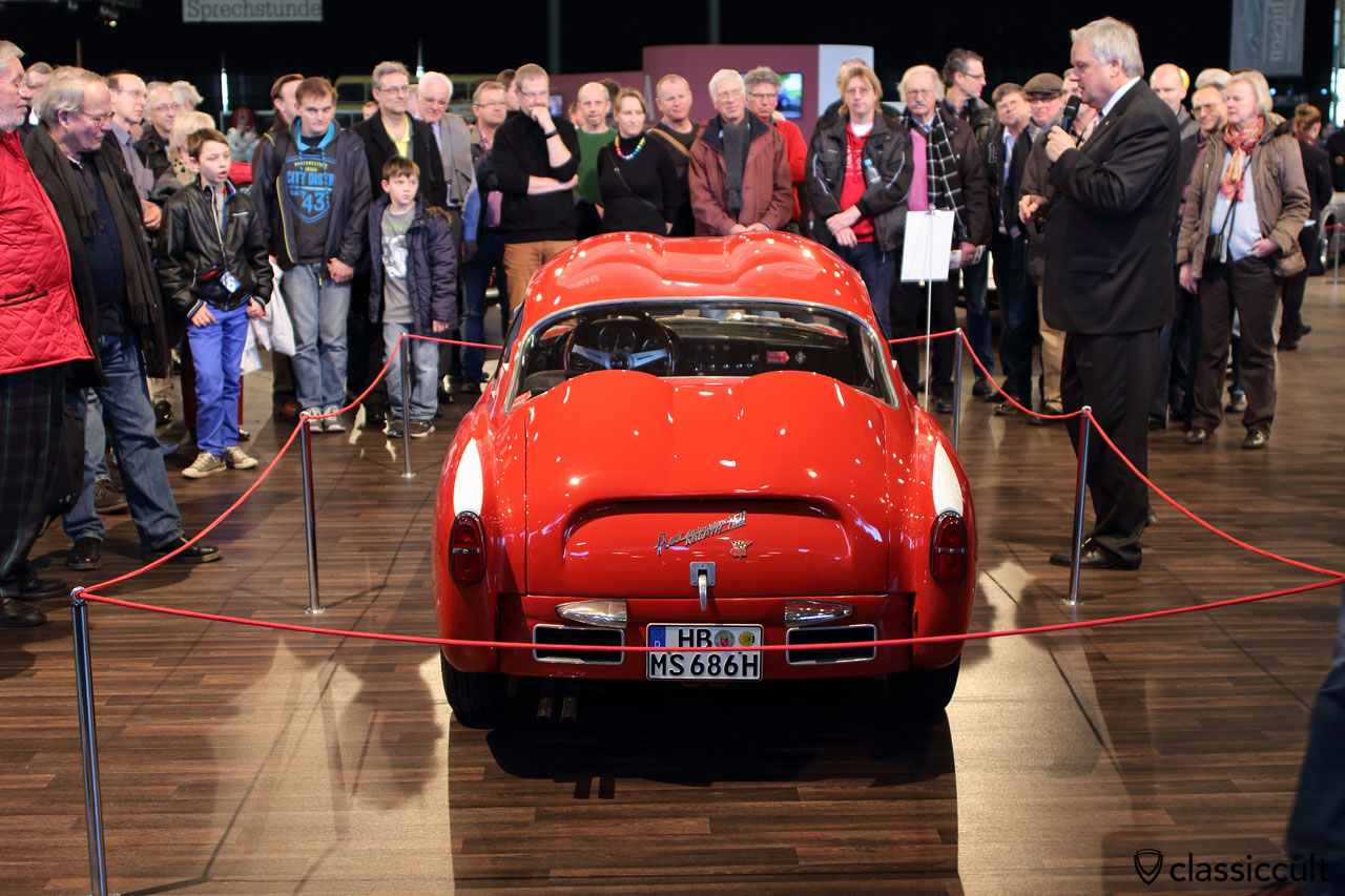 Fiat Abarth 750, Bremen Classic Motorshow 2015