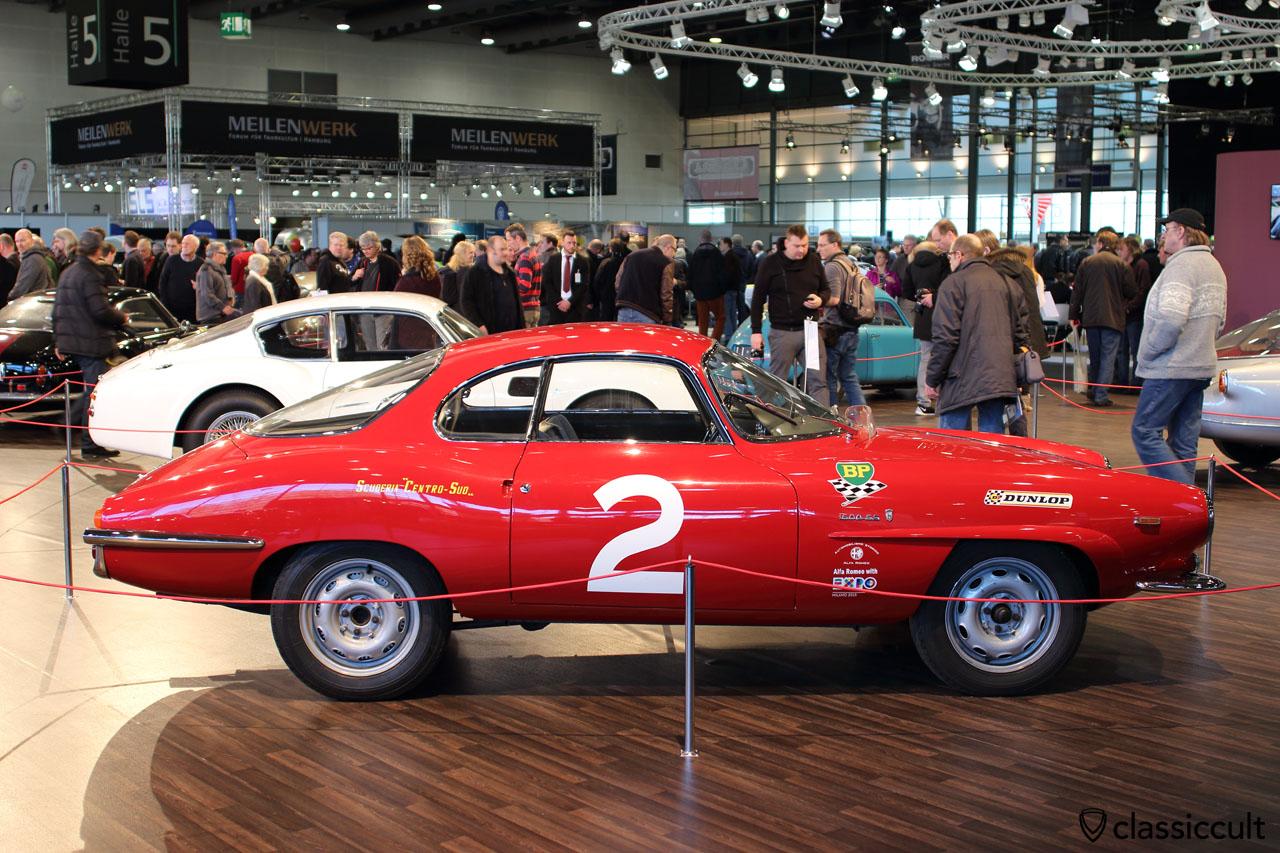 Bremen Motorshow special exhibition with rare classic Italian cars