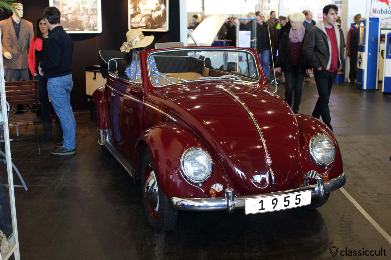 1955 VW Brezel Cabrio