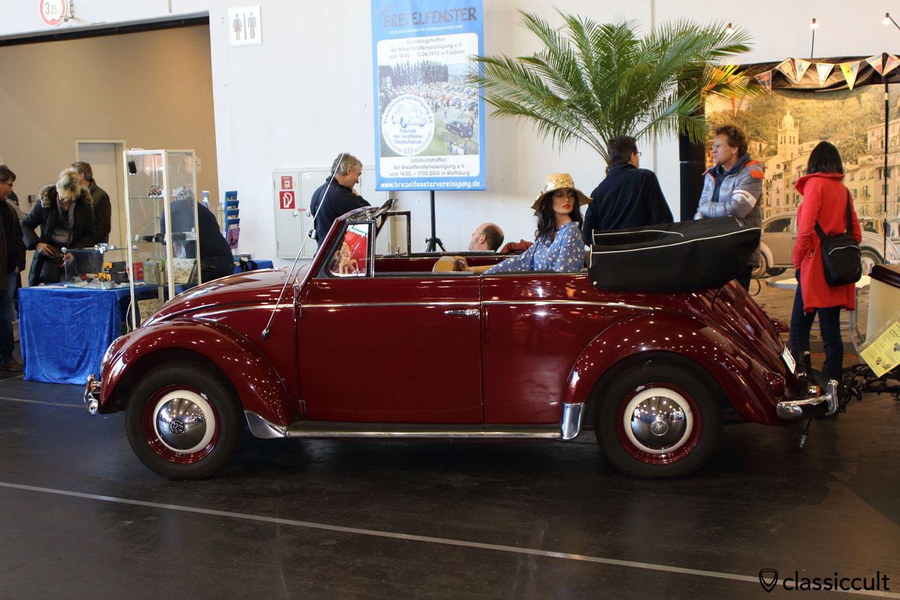 1955 VW Brezel Cabrio, Brezelfenstervereinigung