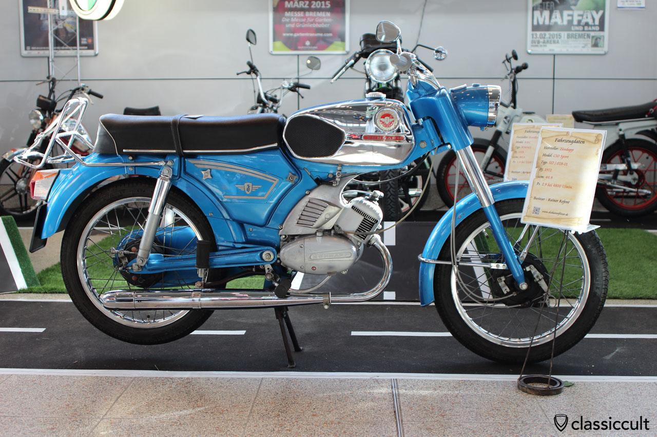 Zündapp C50 Sport 1972