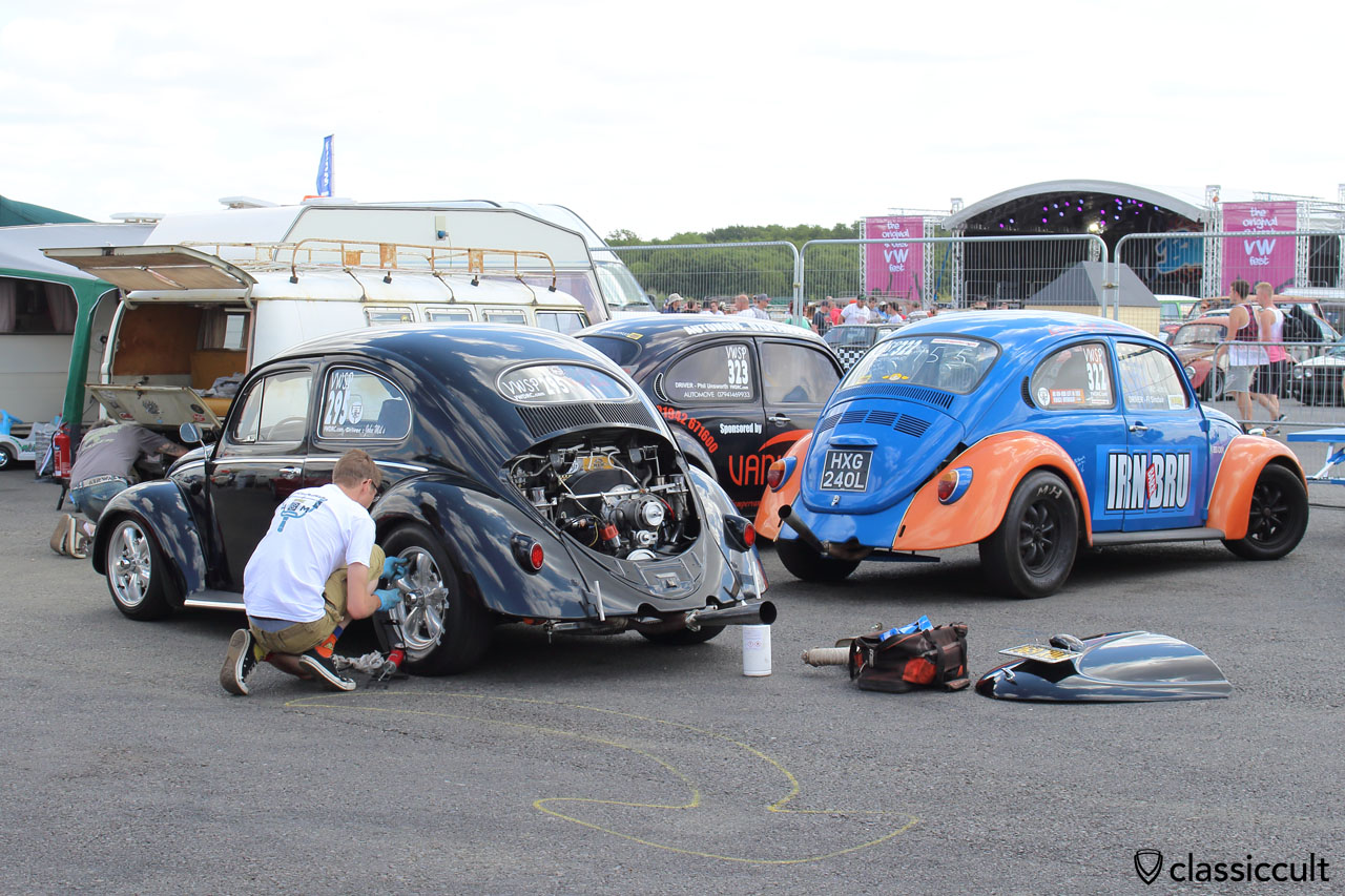VW Oval Drag Race Beetle