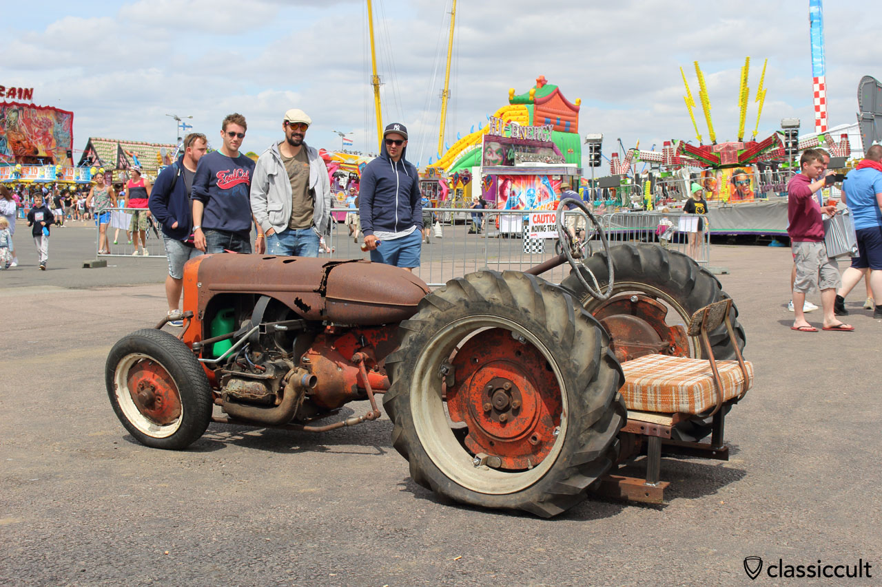 interesting Tractor with VW engine