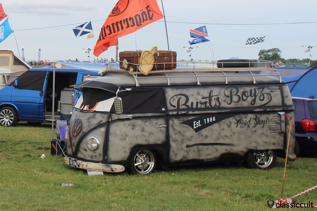 Burts Boys Speed Shop Split Bus