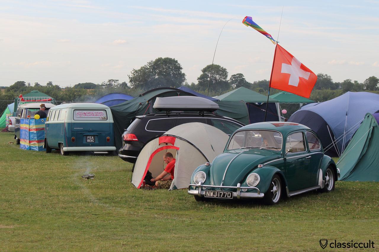 Camping at Bug Jam VW Fest 2015