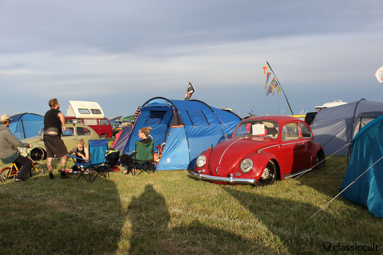 red VW Beetle for sale for 3500 GBP