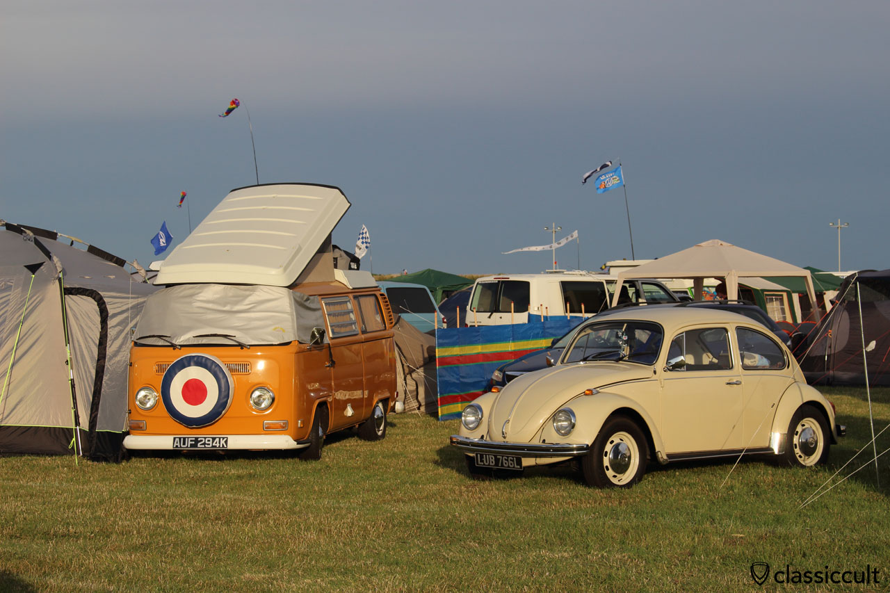T2a Westy and 1976 VW Beetle, Bug Jam VW Fest 2015