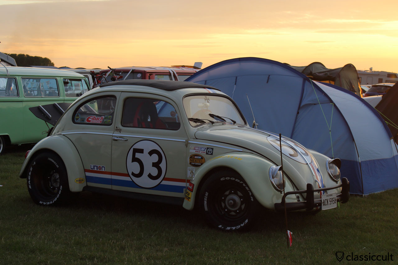 Herbie 53 Drag Race Beetle