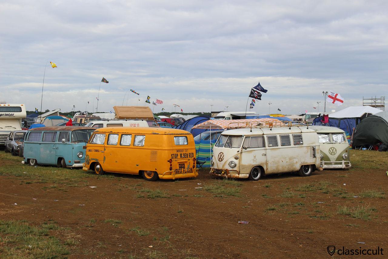 Bug Jam 2015, campground near Santa Pod Raceway