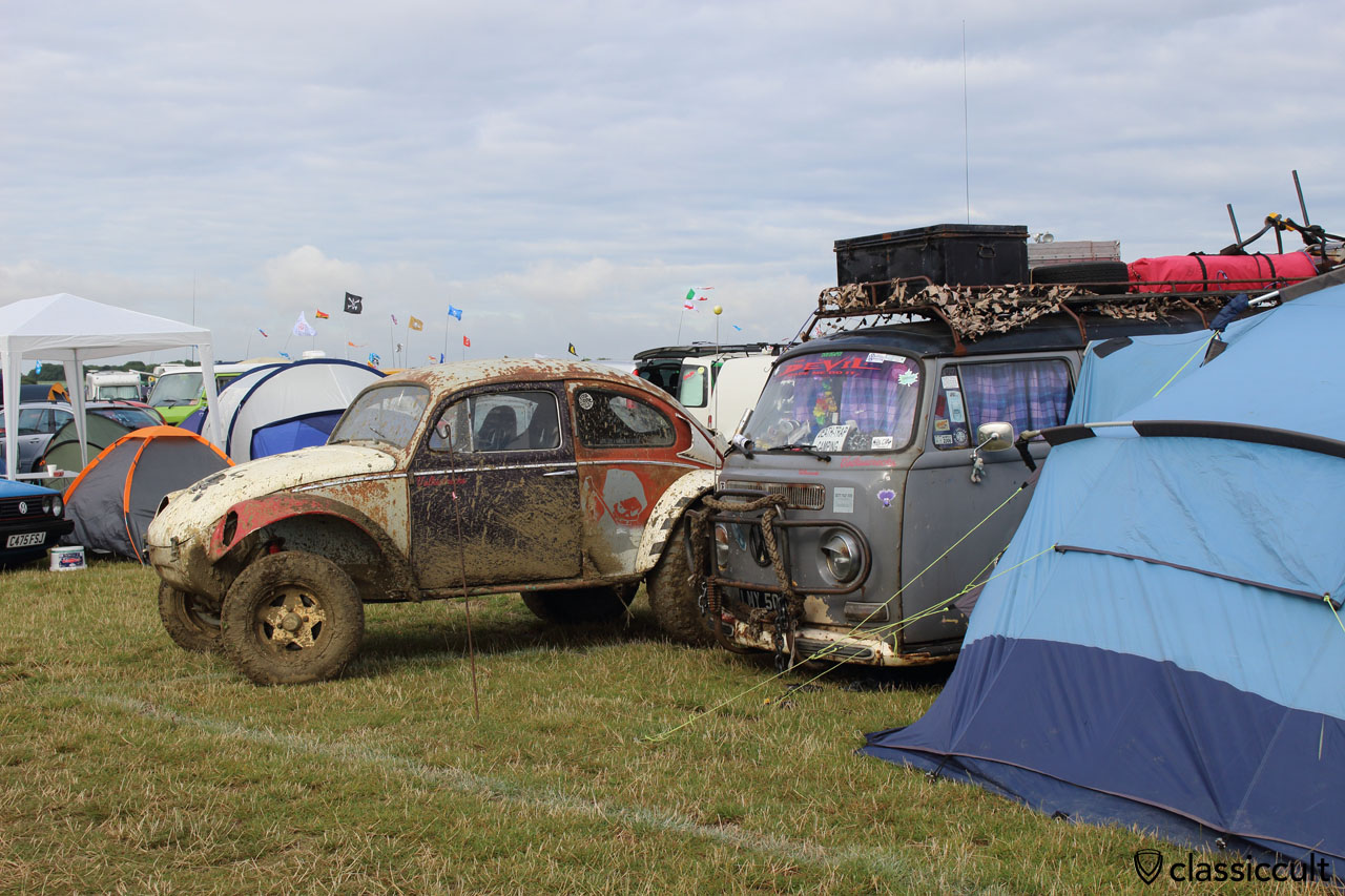 T2 and VW Baja, Bug Jam 2015