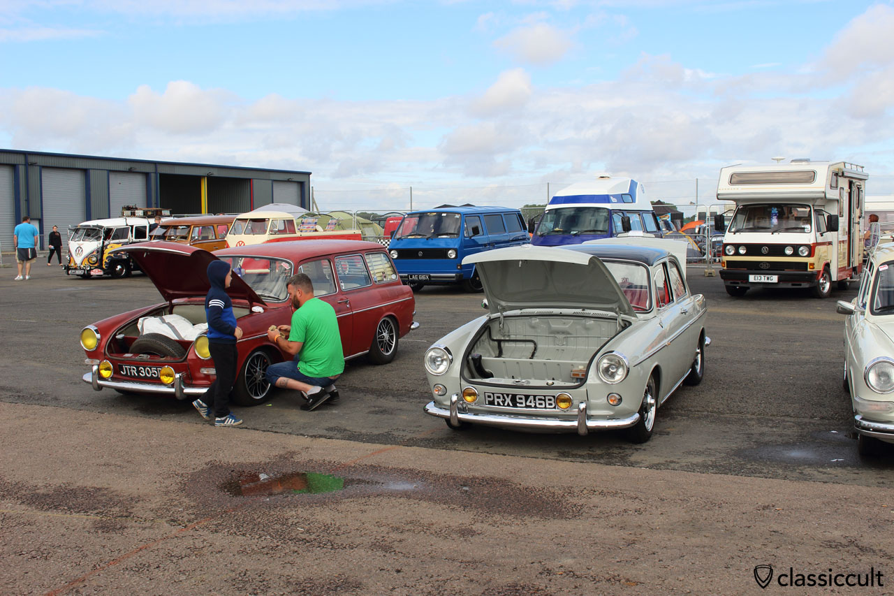 Type 3 cleaning, Bug Jam VW Show 2015