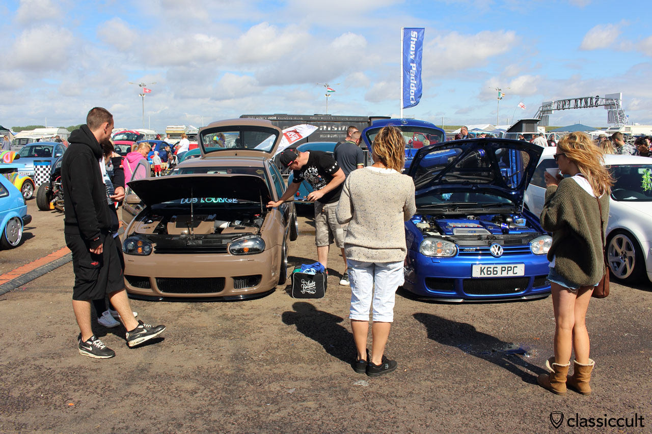 Golf 4 gets a proper cleaning from owner and wins Best of Show