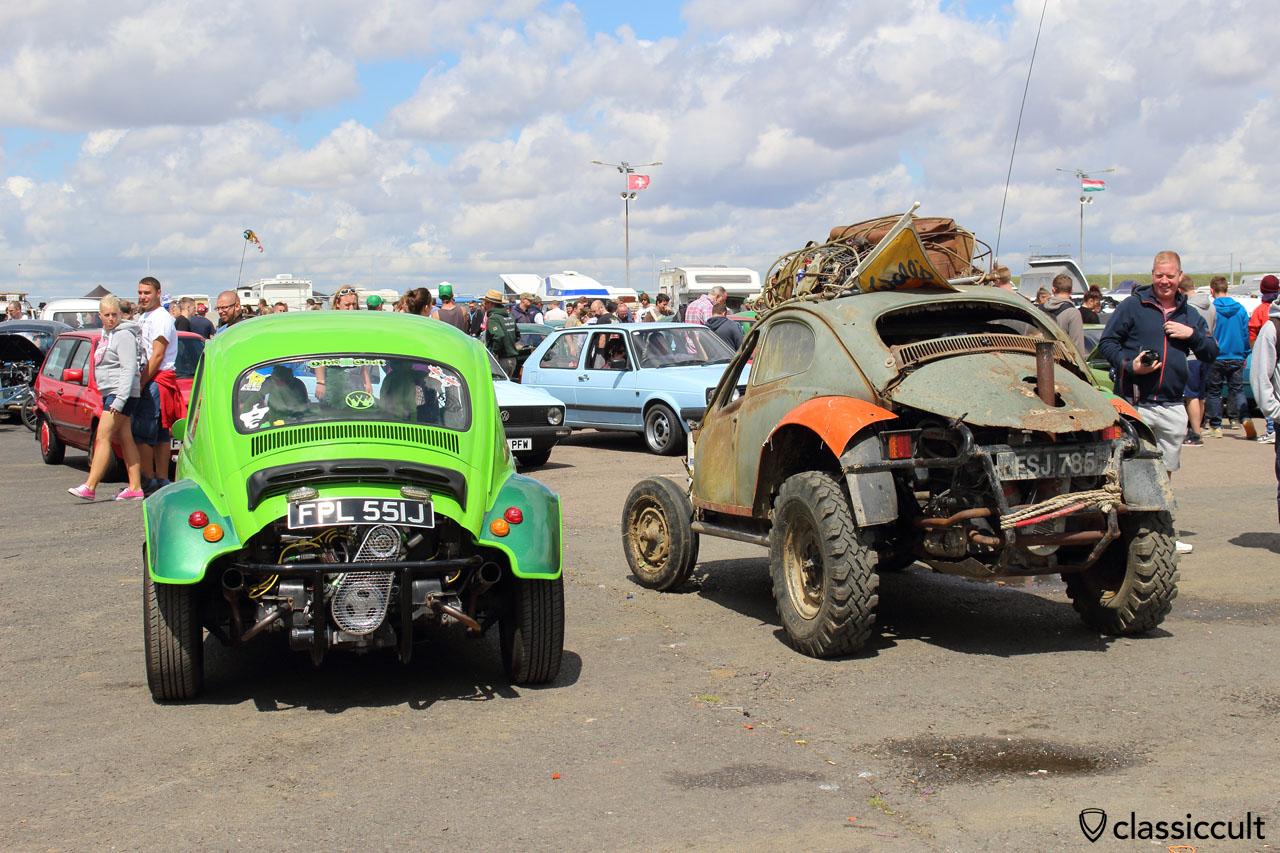 VW Baja Beetles