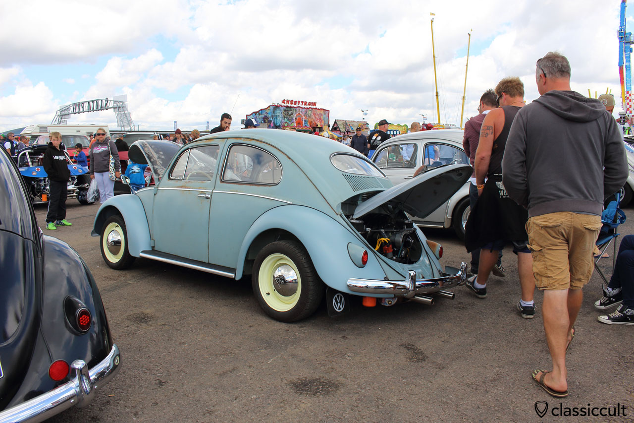 VW Oval beetle with airride
