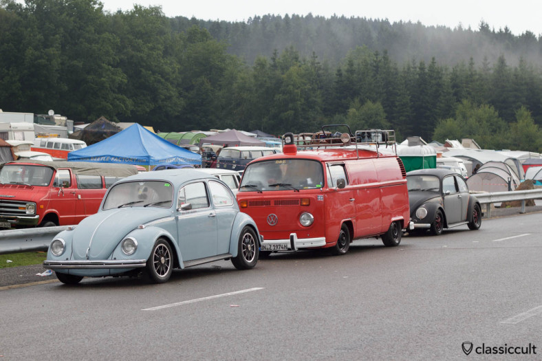 T2 Fire Panel Bus Bug Show Spa