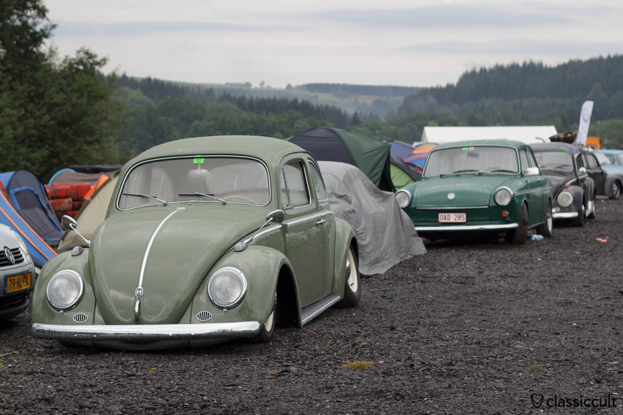 Albert swan neck at slammed VW Bug Spa 2013