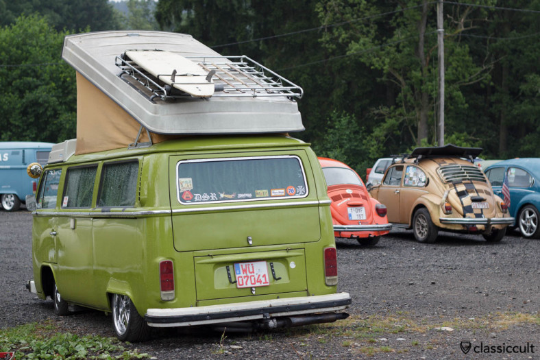 VW T2b Westfalia Camper with alloy rims SPA 2013