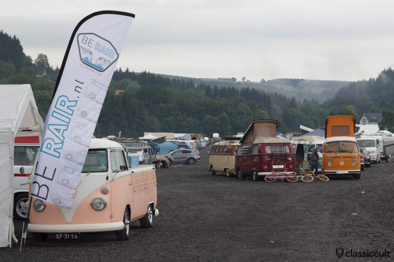 BE RAIR VW cruising club display Le Bug Show 2013
