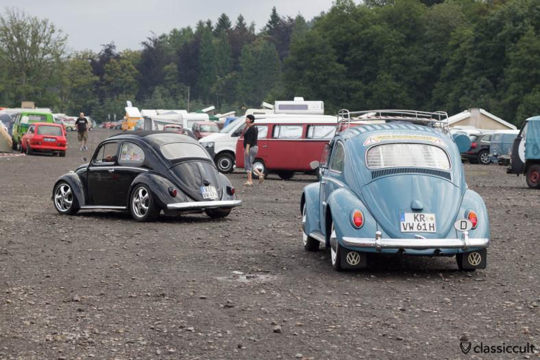 1961 VW Beetle Bug Show 2013 Spa Francorchamps