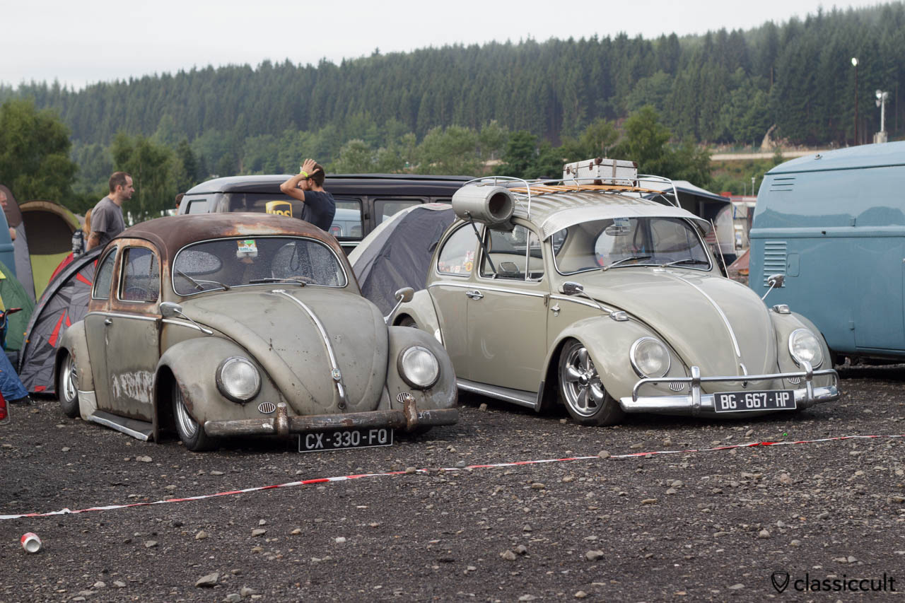 Slammed VW Oval Bug SPA 2013