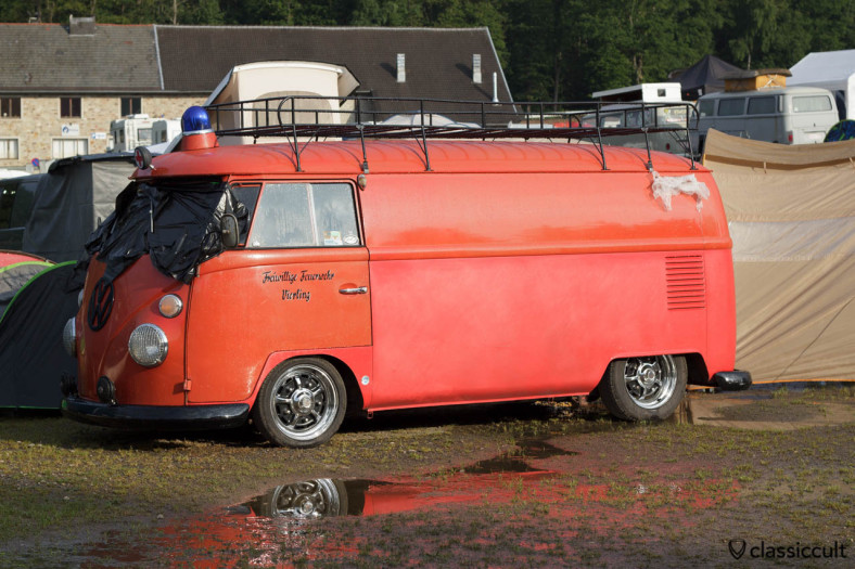 VW T1 Feuerwehr Vierling Bus