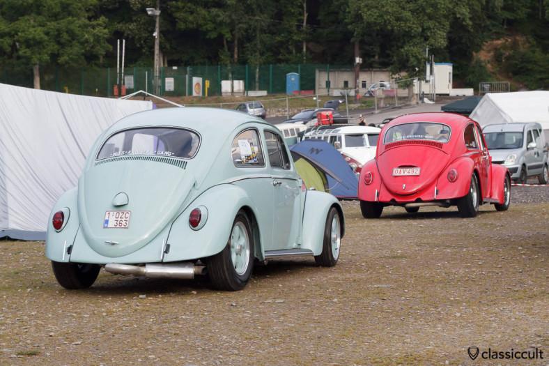 VW Beetle with Billet Bumper T-Bars