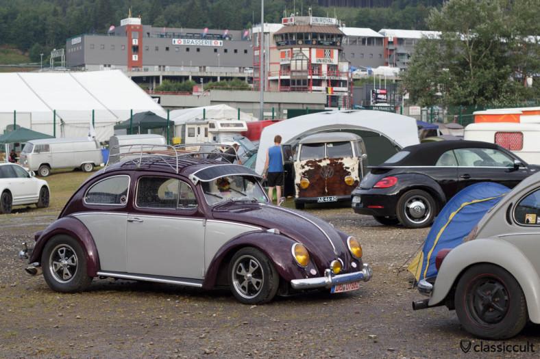 VW Beetle with yellow headlight Bug Show 2013