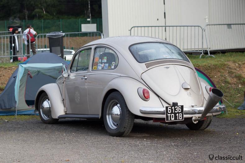 VW Bug with very loud trumpet muffler