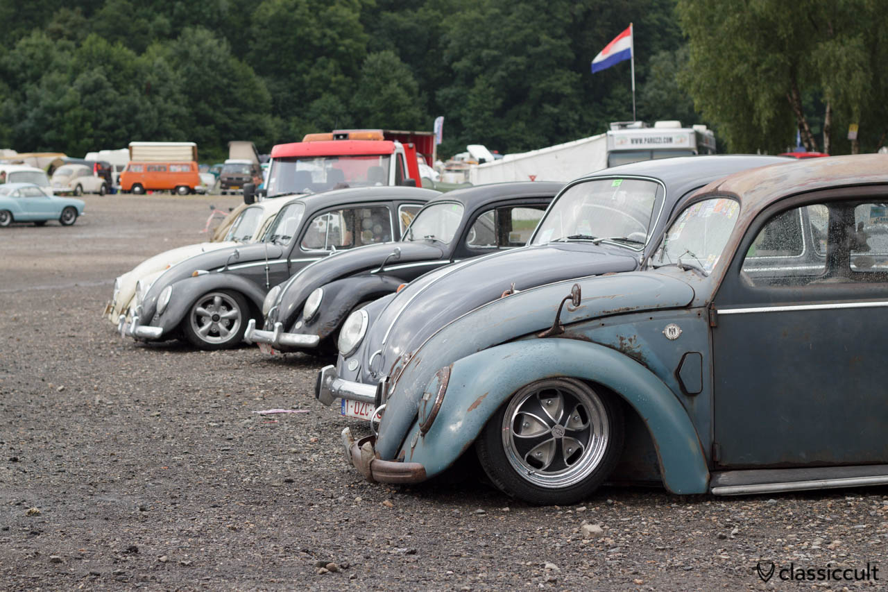 VW Split Bug with Albert swan neck