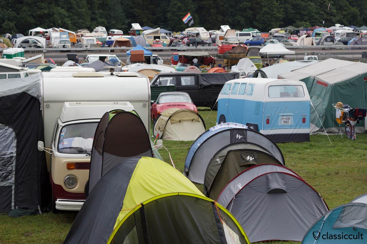 Le Bug Show Spa campsite 2013
