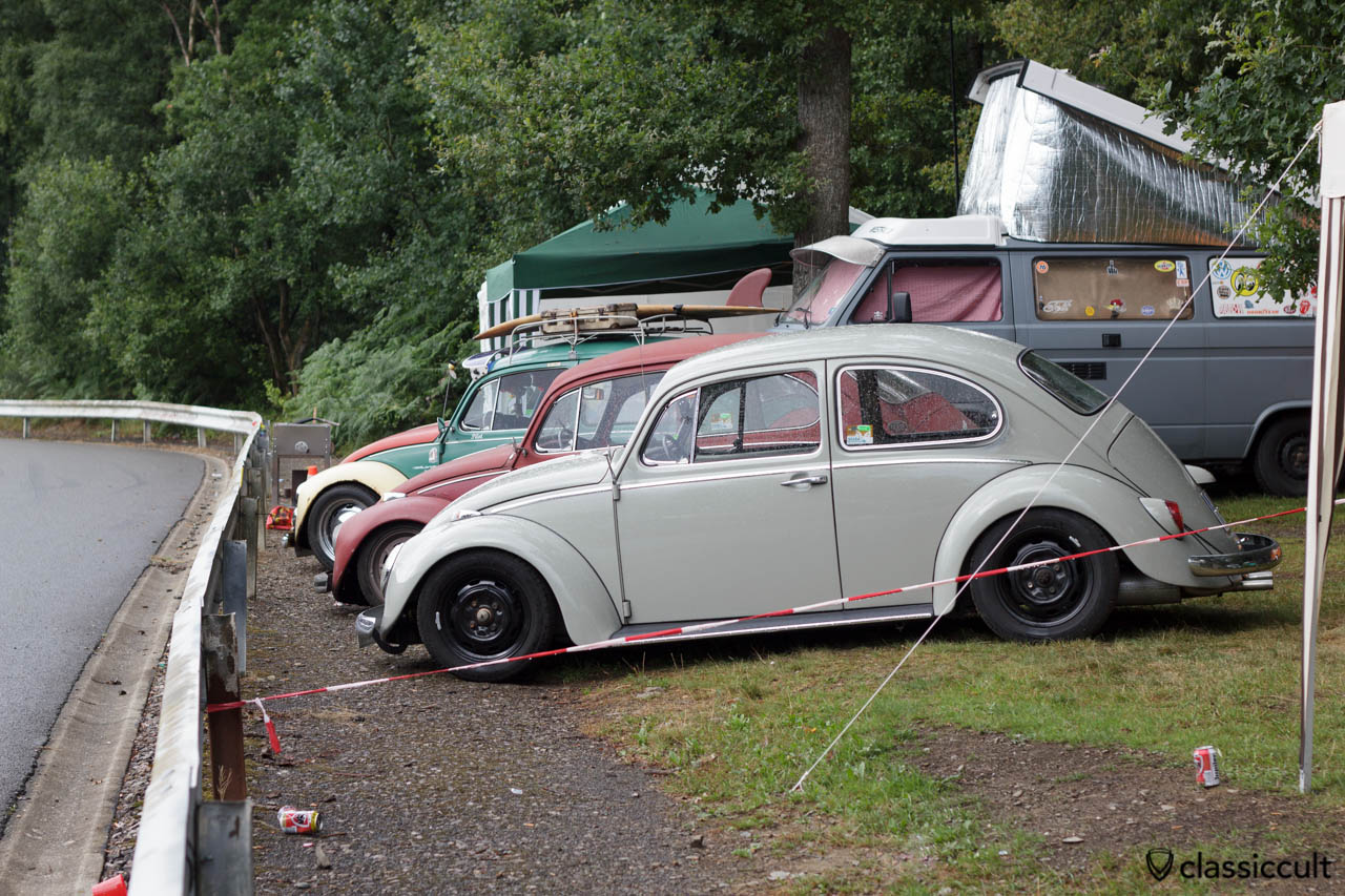 VW Bug camping at Bug Show 2013