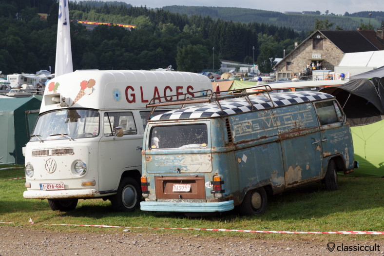 VW T2a Glaces ice cream Bus