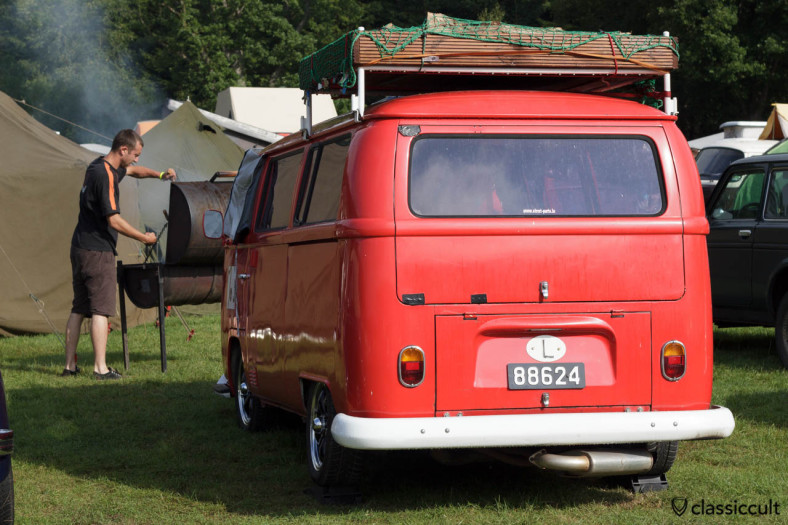 VW T2a Bay Window with roof rack