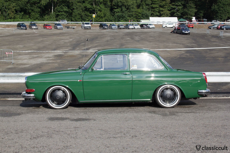 VW Type 3 Notchback after cleaning