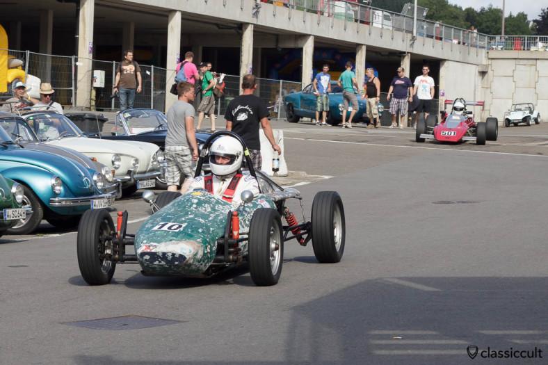 Vintage Formula Vee Race Volkswagen Bug Show Spa 2013