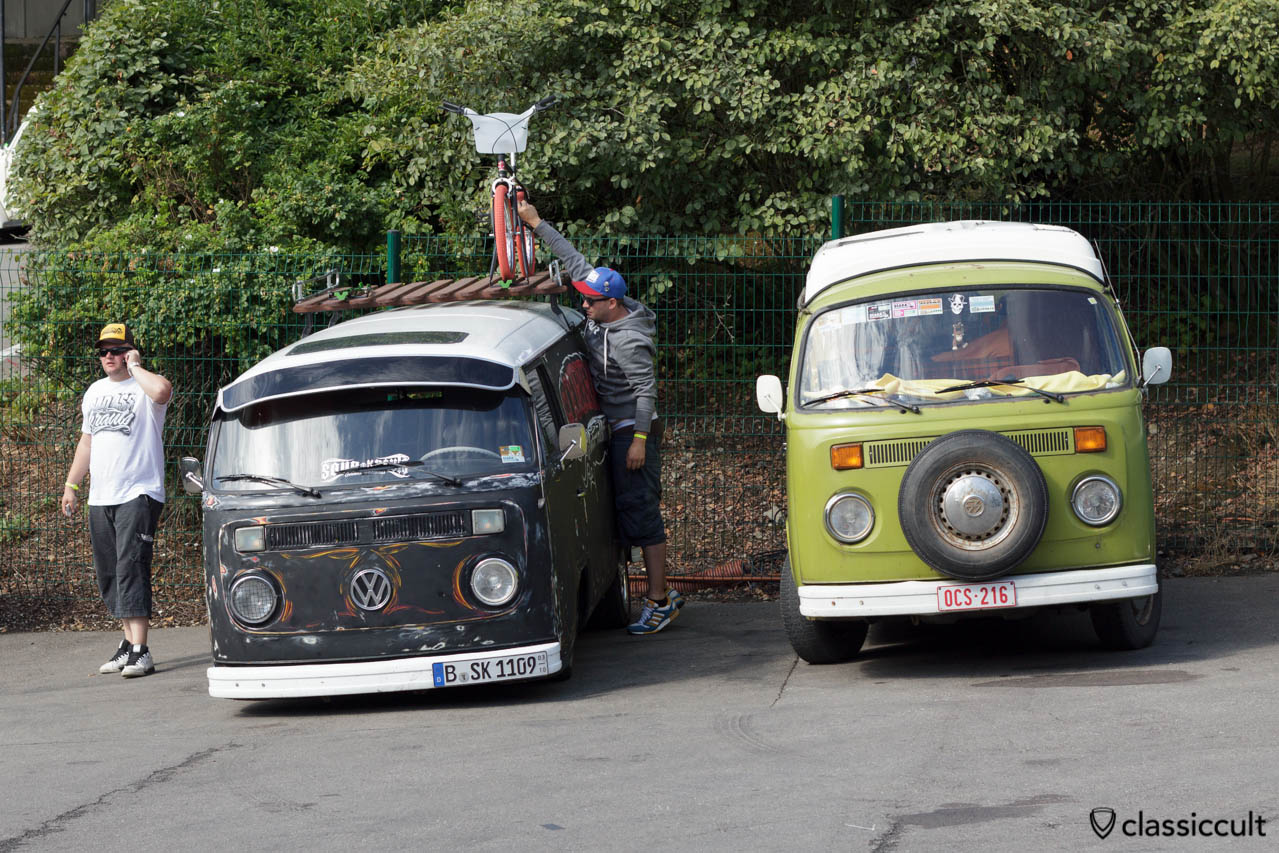 VW T2 Panel and T2 Camper Bus