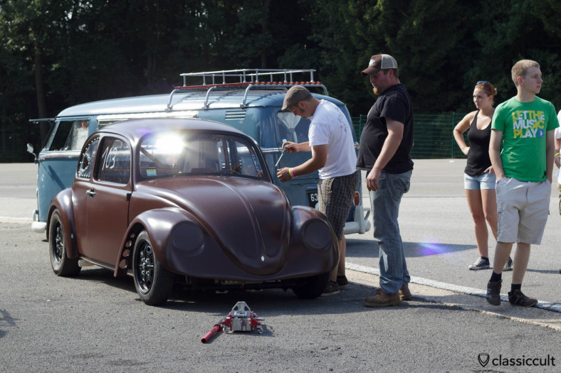 VW Race Bug with Flip Front