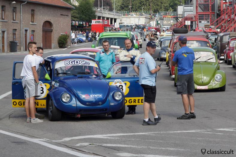 Racing VW Bug from Le Belgian Gentleman Drivers Club