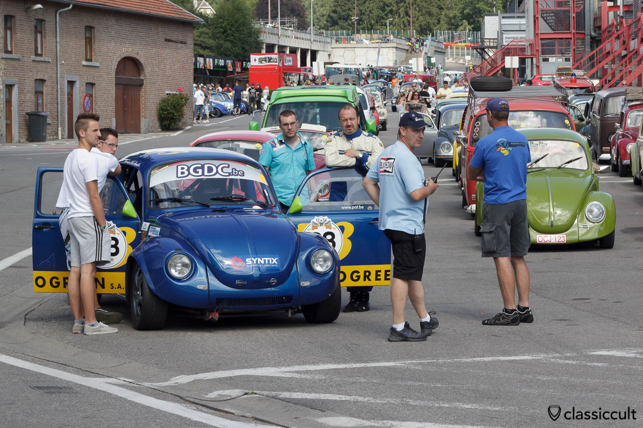 Racing VW Bug from Le Belgian Gentleman Drivers Club