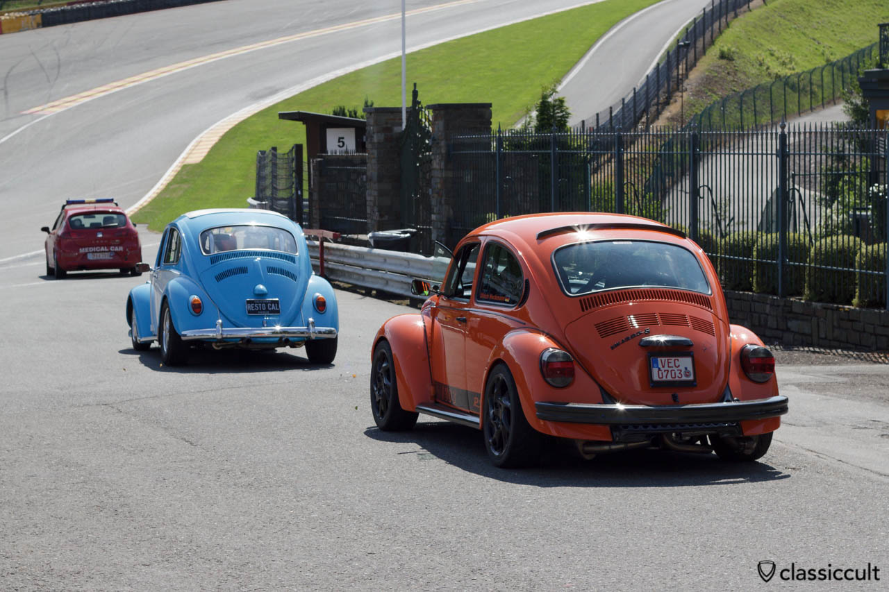 VW 1303 RS on Circuit de Spa
