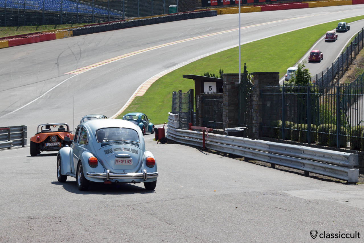 VW 1303 LS on Circuit de Spa