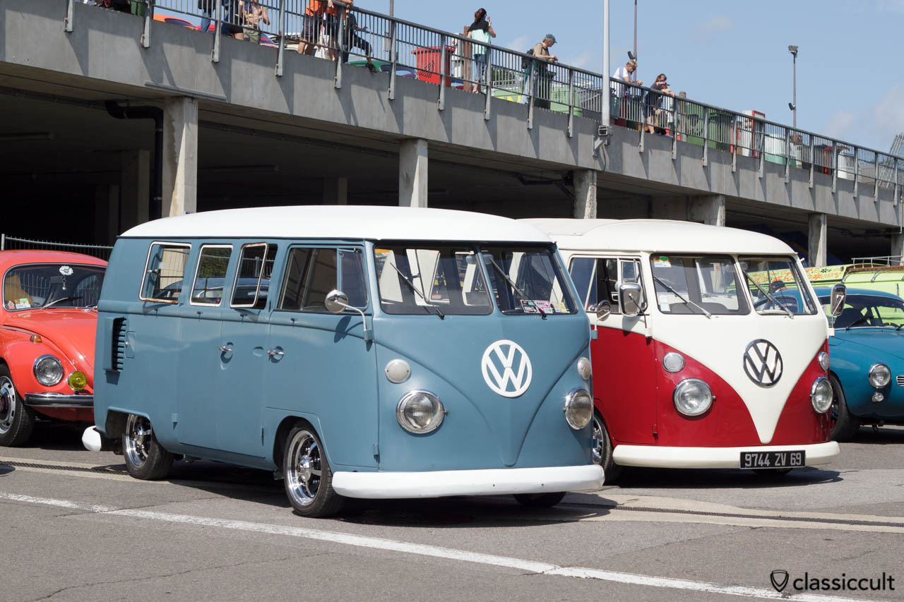 VW T1 Split Screen with alloy rims