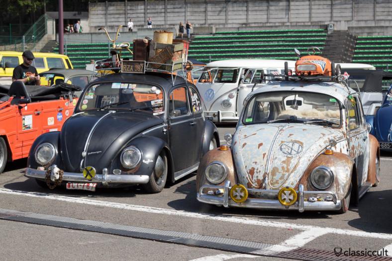 Slammed VW Beetles