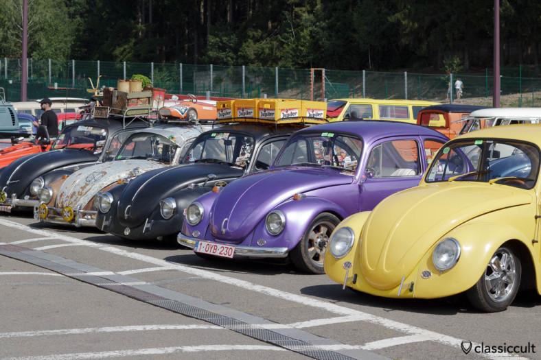 VW Beetles line SPA Show 2013