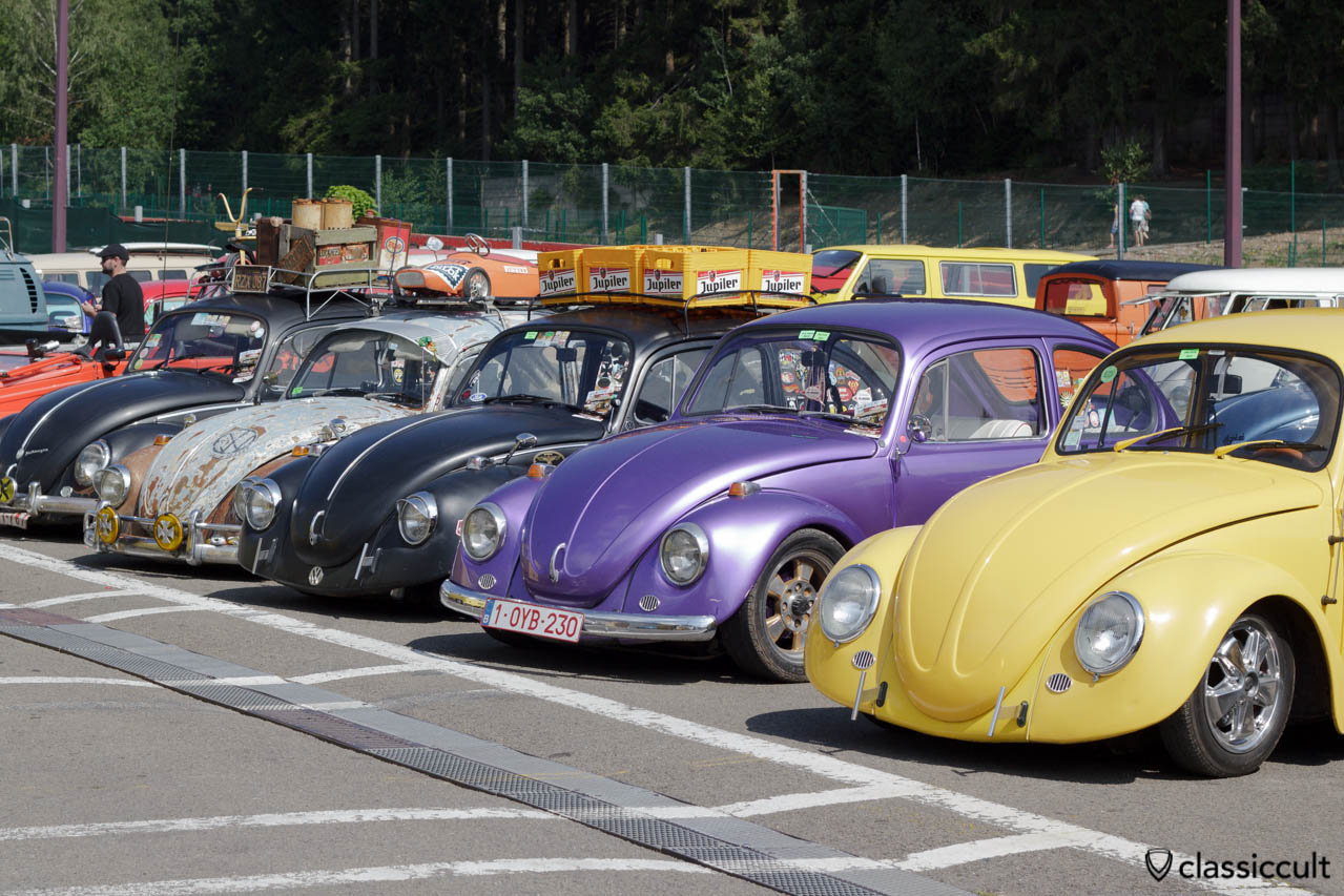 VW Beetles line SPA Show 2013