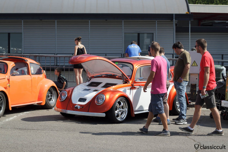 VW Beetle Trunk with Sound System