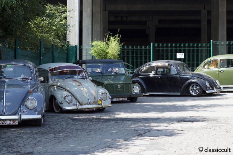 Slammed VW Bug with Swamp Cooler