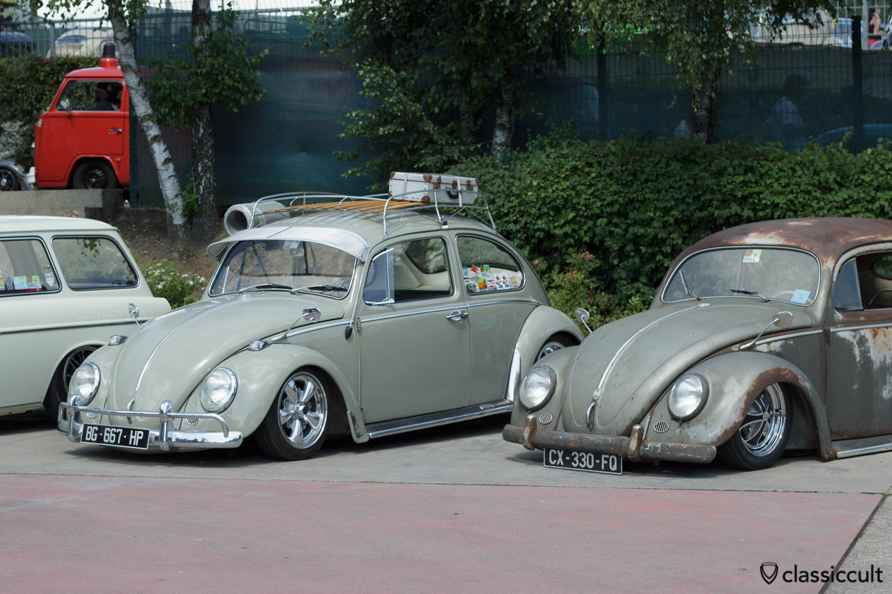 1967 VW Bug with Fuchs wheels