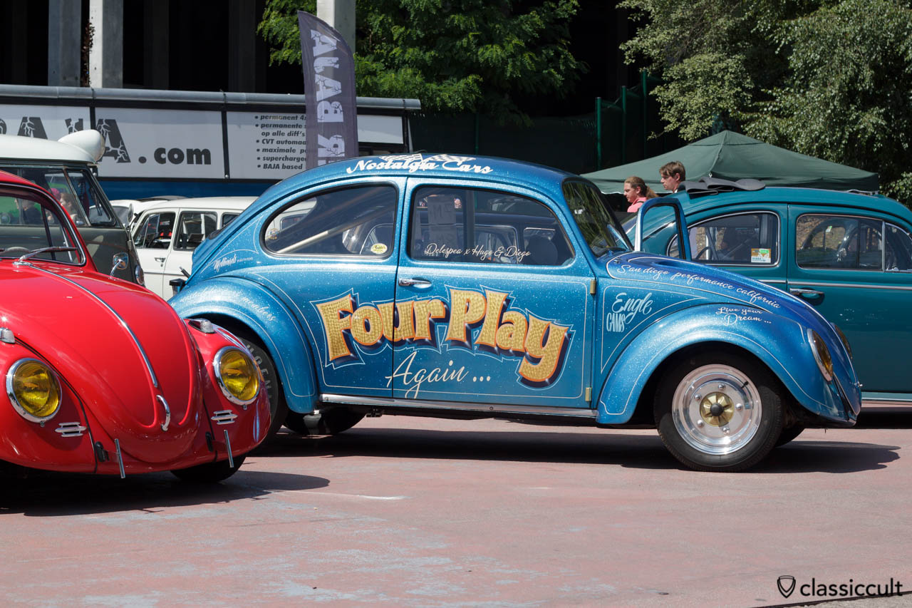 Four Play VW Beetle